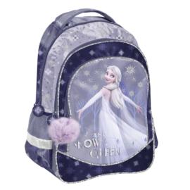 Jégvarázs 2 hátizsák, iskolatáska - 3 rekeszes - The Snow Queen (DOK-181)