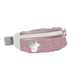 Minnie Mouse övtáska - Csillámos masnik