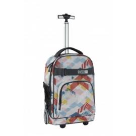 Multicolor gurulós hátizsák, iskolatáska (17-1230UG)