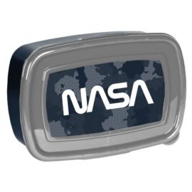NASA műanyag uzsonnás doboz - Terepmintás