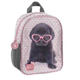 Kutyás Studio Pets kisméretű hátizsák - Fekete labrador