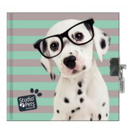 Studio pets kulcsos napló - 13,5 x 13 cm - Dalmata (PEO-3640)