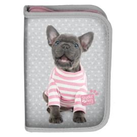 Studio Pets kutyás tolltartó - Francia bulldog