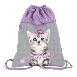 Studio Pets zsinóros hátizsák, tornazsák - Sweet kitten (PTC-713)
