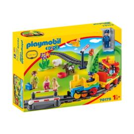 Playmobil 1.2.3 - Az első kisvasutam játékszett