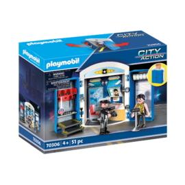Playmobil - City Action - A rendőrállomáson játékbox
