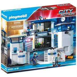 Playmobil City Action - Rendőr-főkapitányság cellákkal játékszett