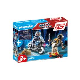Playmobil - City Action - Starter Pack - Rendőrség kiegészítő játékszett