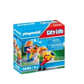 Playmobil City Life - Első nap az iskolában játékszett