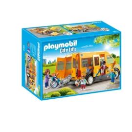 Playmobil City Life - Iskolabusz játékszett