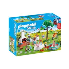 Playmobil - City Life - Kerti parti játékszett