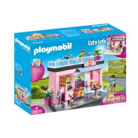 Playmobil - City Life - Kisvárosi kávézó játékszett