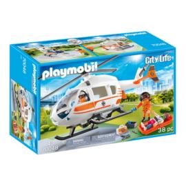 Playmobil - City Life - Mentőhelikoptier játékszett