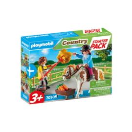 Playmobil - Country - Starter Pack - Lovasudvar kiegészítő játékszett