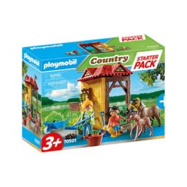 Playmobil - Country - Starter Pack - Lovasudvar kezdő játékszett