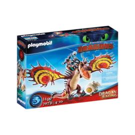 Playmobil - Így neveld a sárkányodat - Dragon Racing - Takonypóc és Kampó játékszett