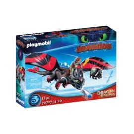 Playmobil - Így neveld a sárkányodat - Dragon Racing - Hablaty és Fogatlan játékszett