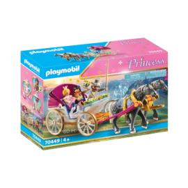Playmobil - Princess - Romantikus lovashintó játékszett