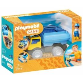 Playmobil Sand - Tartálykocsi játékszett