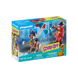 Playmobil- Scooby-Doo! - Ghost Clown kaland játékszett