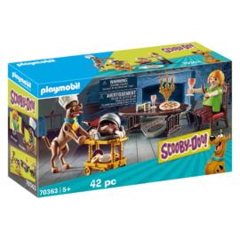 Playmobil - Scooby-Doo! - Vacsora Bozonttal játékszett