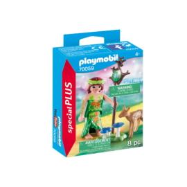 Playmobil - Special Plus - Erdei tündér őzikével játékszett