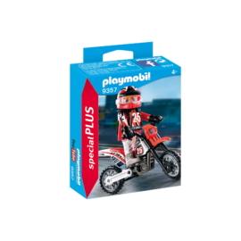 Playmobil - Special Plus - Motokrossz-versenyző játékszett