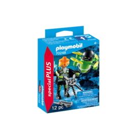 Playmobil - Special Plus - Ügynök drónnal játékszett