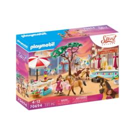 Playmobil - Szilaj - Zabolátlanok - Miradero Fesztivál  játékszett