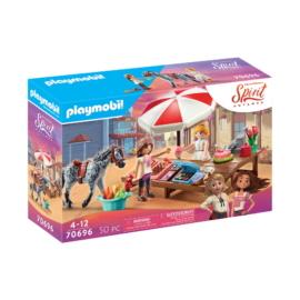 Playmobil - Szilaj - Zabolátlanok - Miradero Csokoládébolt játékszett