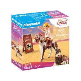 Playmobil - Szilaj - Zabolátlanok - Rodeo Abigél játékszett