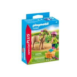 Playmobil - Special Plus - Pónigondozó kislány játékszett
