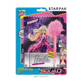 Barbie kulcsos napló tollal 12,7 x 17,8 cm (350352)