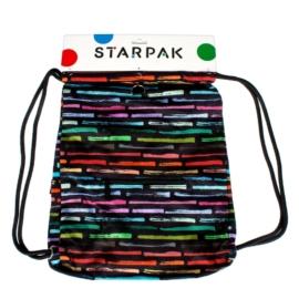 Art stripes zsinóros hátizsák, tornazsák (351922)