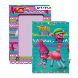Trollok kulcsos napló dobozban 17 x 12,5 cm (358790)