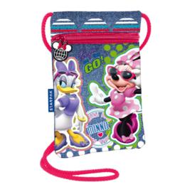 Minnie Mouse nyakba akasztható pénztárca, mobiltartó - Style on the go (372497)