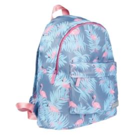 Flamingos hátizsák, iskolatáska (382504)