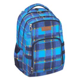 Chequer 2 rekeszes iskolatáska, hátizsák (388323)