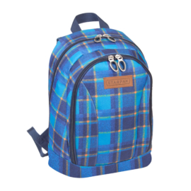 Chequer 1 rekeszes iskolatáska, hátizsák (388326)