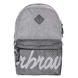 Superbrave iskolatáska, hátizsák hálós zsebbel - Grey (388333)