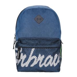 Superbrave iskolatáska, hátizsák hálós zsebbel - Blue (388334)