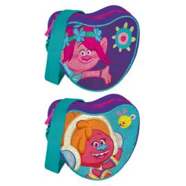 Trollok dupla flitteres szívalakú válltáska (391797)