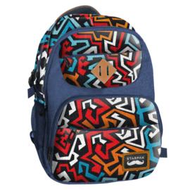 Abstract iskolatáska, hátizsák (402459)
