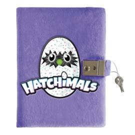 Hatchimals plüss kulcsos napló 15 x 20 cm (405407)
