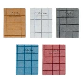 Lucky Diary csillámos notesz A6/80 lap (405675)