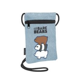 Medvetesók nyakba akasztható pénztárca, mobiltartó (410016)
