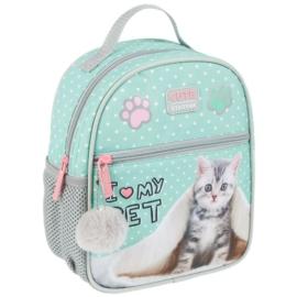 Cicás mini hátizsák - I love my cat