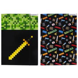 Game Pixel A/4 gumis mappa - kétféle