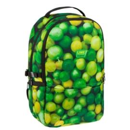 Lime 2 rekeszes iskolatáska, hátizsák