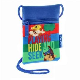 Mancs őrjárat nyakba akasztható pénztárca - Playing hide and seek